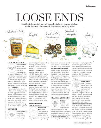 loose ends march