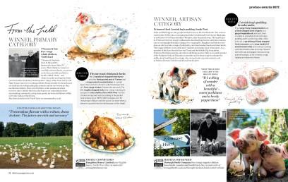 chicken produce awards
