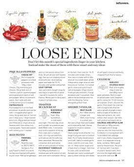loose ends celeriac